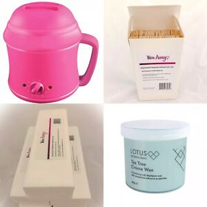 Hair Removal Waxing Kit Ideal For Starters/At Home **+ FREE GIFT**
