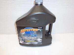 Spectro Syn-Sno 2 Stroke Full Synthetic Snowmobile Oil Ski Doo XPS 850 800 600