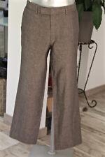 pantalones traje de lino gris HUGO BOSS talla 44-46 fr (GR 52) COMO NUEVO