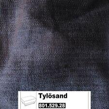 IKEA Tylösand Bezug für Hocker in Everöd schwarz 801.529.28