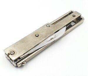 Vintage USSR pocket Folded Knife FRAME articulated mechanism MTZ 1970s