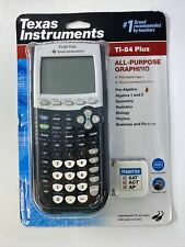 Texas Instruments Ti-84 Plus All-Purpose Graphing Calculator - Black Sealed
