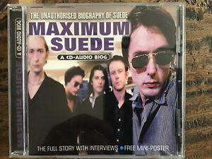 Maximum Suede (1999) CD