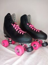 Epic Skate Classic High Top Black With Pink Wheels size 10 women's
