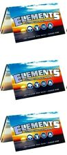 3 Packs Elements 1 1/2 Rolling Paper 1.50 Ultra Thin Rice Papers USA Shipped
