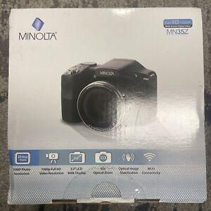 Minolta 20 Mega Pixels High Wi-Fi Digital Camera OPEN BOX