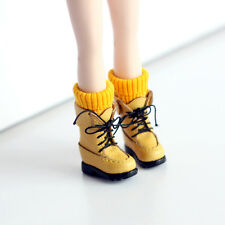 Vintage socks boots shoes_Yellow  for Blythe/DAL/Pullip/Momoko/AZONE/JerryBerry
