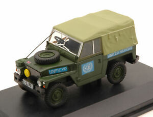 Model Car Jeep Scale 1:43 Land Rover 12 United Nations diecast vehicles