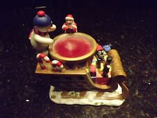 PartyLite Holiday Sleigh Aroma Melts Warmer Candle Holder P8538