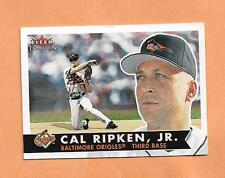 CAL RIPKEN JR 2001 FLEER RP CARD # 340  2001 CAREER HIGLIGHTS LIMITED 50,000