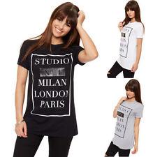 Viscose Cap Sleeve Machine Washable Regular T-Shirts for Women