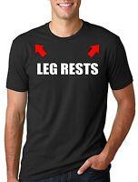 Funny Leg rests Tee Shirt