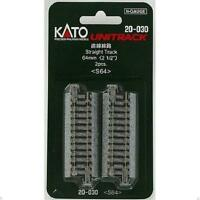 Kato 20-030 Rail Droit / Straight Track 64mm 2pcs - N