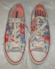 CONVERSE ALL STAR DR SEUSS IF I RAN THE CIRCUS SHOES SIZE MEN US 6  WOMEN US 8
