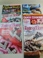 Taste Of Home Magazine Lot of 6 Recipes Christmas Holidays & More