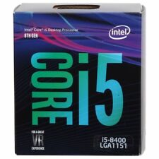 Intel Core i5-8400 Coffee Lake 2.8GHz (4.0GHz Turbo) LGA 1151 CPU BX80684I58400
