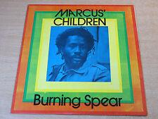 EX-/EX !! Burning Spear/Marcus' Children/1986 LP/Rare Reggae