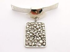 Sterling Silver Neck Piece Pendant by N E FROM Niels Erik From  man or woman