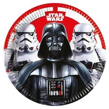 Boys Girls Birthday Party Plates Decoration Tableware Star Wars Darth Vader Film