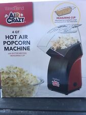 West Bend Air Crazy Hot Air Popcorn Maker Machine 82471R