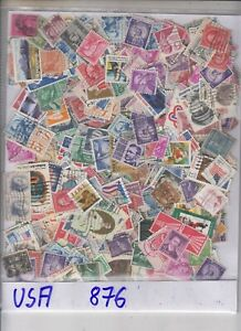 USA 876 Stamps  used old Material