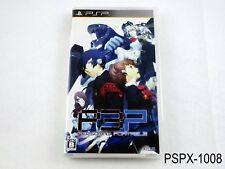 Persona 3 Portable PSP Japanese Import JP Japan P3P Portable US Seller B