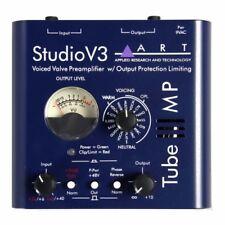 ART TubeMPSTV3 Variable Valve Voicing Tube Mic Preamp w/ Limiter Direct Box