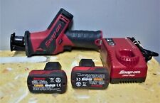 Snap-on CTRS761 Reciprocating Saw with 2 Battery and Charger