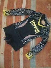 New listing Cheerleading Uniform Allstar Topgun Set Youth YM Rebel Athletic