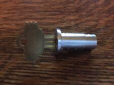 """New 1/4"""" Lock & Key for Oak, Northwestern or Folz Gumball Bulk Vending Machine"""