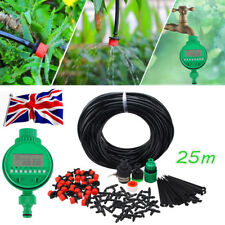 25M Garden Micro Irrigation Watering System Automatic Timer Self Plant Watering