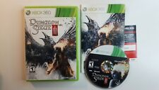 DUNGEON SIEGE III Xbox 360 Complete CIB w/ Box, Manual - FAST FREE SHIPPING !!