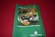 International Harvester Power Lawn Cutting Equi For 1974 Dealer's Brochure TEIN