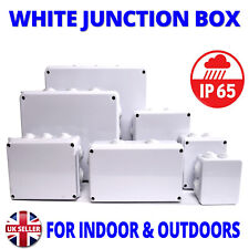IP65 Waterproof Junction Box Enclosure Terminal Electric Cable Connector Outdoor