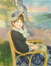 AUGUSTE RENOIR - BY THE SEASHORE -ART ON CANVAS -IMPRESSIONIST -UNSTRETCHED