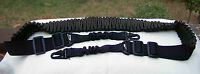 2 pt Adjustable Tactical, Paracord Wrapped, Rifle Sling ~Veteran Made~