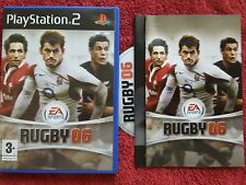 RUGBY 06 EA SPORTS  ORIGINAL BLACK LABEL SONY  PLAYSTATION PS2 PAL