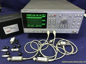 WILTRON model. 6407 RF Network Analyzer