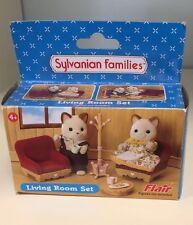 Sylvanian Families living room Set ref No 4837 Entièrement neuf dans sa boîte