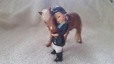 Hagen Renaker Horse Little Girl w/Pony Figurine Specialties Free Shipping 03170
