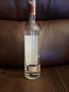 William Larue Weller Kentucky Straight Bourbon Whiskey Empty Bottle. Used.