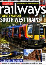 MODERN RAILWAYS 809 FEB 2016 South West Trains 25,St Pancras,Merseyrail,Europe