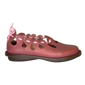 NEW Trippen Slip-On Ballerina Shoes Pink Leather Rare Women's Size 36 / 6