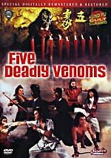 Five Deadly Venoms - Hong Kong Kung Fu Martial Arts Action movie DVD - NEW DVD