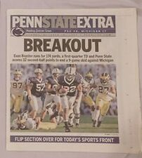 OCT 19 2008 PENN STATE EXTRA EVAN ROYSTER JONATHAN PAPELBON RED SOX