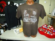 Michael W Smith/Steve Curtis Chapman The United Tour brown XL t-shirt, musicians