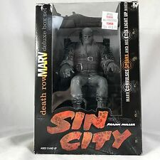 Sin City Death Row Marv Action Figure in Electric Chair Deluxe Box Set McFarlane