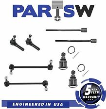 8Pc Front Suspension Kit for Taurus Sable Lower Ball Joints & Sway Bar End Links