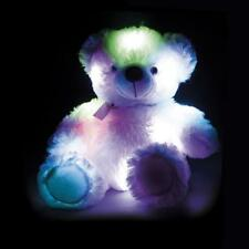 Super Soft Cuddly GLOW TEDDY Bear Light up Colour Change Night Light  Sleepover