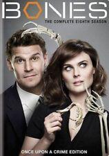 Bones The Complete Eighth Season 8 Region 1 DVD - as
